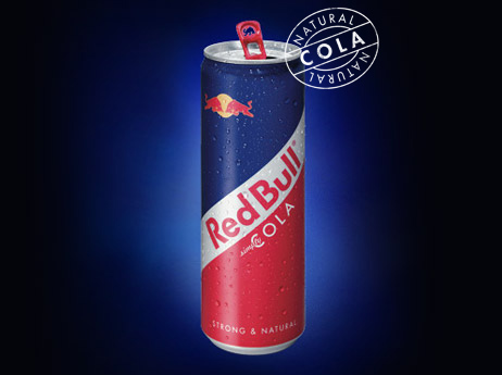 red bulll cola